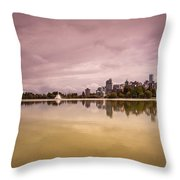 Vancouvers Lost Lagoon Throw Pillow