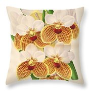 Vandas Anderiana Throw Pillow by Philip Ralley