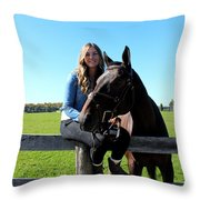 Vanessa Fritz 16 Throw Pillow