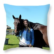 Vanessa Fritz 19 Throw Pillow