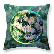 Vangloghing Roses Throw Pillow