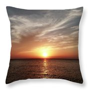 Vanilla Sky Throw Pillow