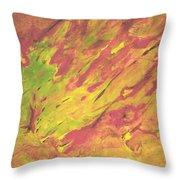Vanishing Forest Throw Pillow