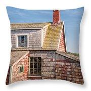 Vanishing Maine Throw Pillow