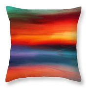 Vanity Of Its Rays Throw Pillow