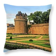 Vannes In Brittany France Throw Pillow