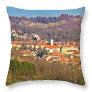 Varazdinske Toplice - Thermal Springs Town Throw Pillow