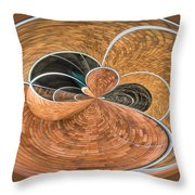 Variation On A Theme Throw Pillow