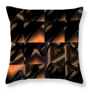 Variations In Brown Throw Pillow
