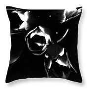 Variegated Tulips Throw Pillow