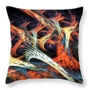 Vascular Plant Throw Pillow