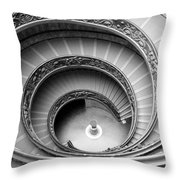Vatican Spiral Throw Pillow