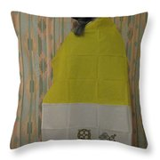 Vatican Witch 2 Throw Pillow