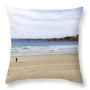 Vazon Bay - Guernsey Throw Pillow