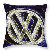 Vdub 2 Throw Pillow
