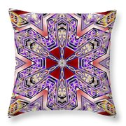 Vector Portal Throw Pillow