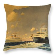 Veendam Throw Pillow