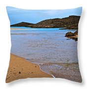 Vega Baja Beach 2 Throw Pillow