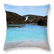 Vega Baja Beach 4 Throw Pillow