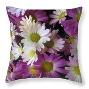 Vegas Butterfly Garden Flowers Colorful Romantic Interior Decorations Throw Pillow
