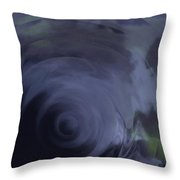The Soft Veil Of Sleep Throw Pillow