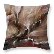 Veil Was Torn 2 Throw Pillow