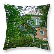 Veiled Victorian Throw Pillow