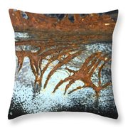 Veins To Clean  Throw Pillow