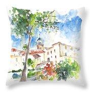 Velez Rubio Townscape 01 Throw Pillow