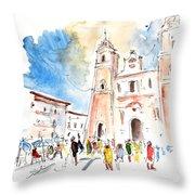 Velez Rubio Townscape 02 Throw Pillow