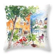 Velez Rubio Townscape 03 Throw Pillow