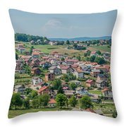 Velika Kladusa Bosnia  Throw Pillow