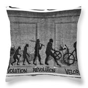 Velorution Throw Pillow