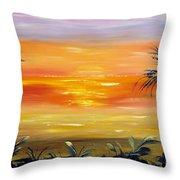 Velvet Sky Throw Pillow