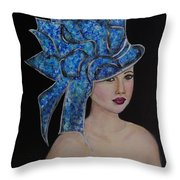 Velvet Throw Pillow by The Art With A Heart By Charlotte Phillips