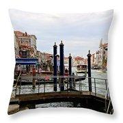 Venetian Days  Throw Pillow