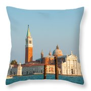Venetian Dove Throw Pillow