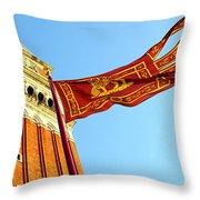 Venetian Freedom Throw Pillow