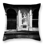 Venetian  Palace Throw Pillow