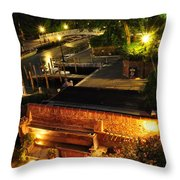 Venetian Room With A View Throw Pillow