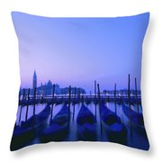 Venetian Sunrise Throw Pillow