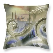 Venezia Bella Throw Pillow