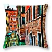 Venezia Mi Amor Throw Pillow