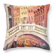 Venice Is For Lovers Throw Pillow