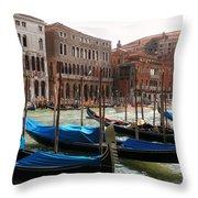 Veneziano Trasporto Throw Pillow