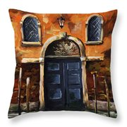 Venice 002 Throw Pillow