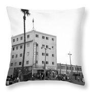 Venice Beach House Throw Pillow