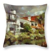 Venice California 6 Throw Pillow