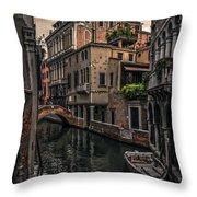 Venice Canal 8 Throw Pillow