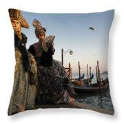 Venice Carnival '15 IIi Throw Pillow